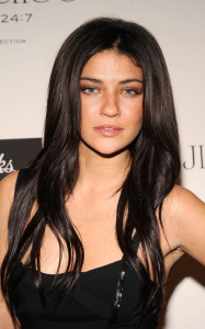Jessica Szohr spotted at the launch of CHOO 247 on February 11th 2010 at Saks Fifth Avenue in New York City 5