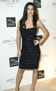Jessica Szohr spotted at the launch of CHOO 247 on February 11th 2010 at Saks Fifth Avenue in New York City 2