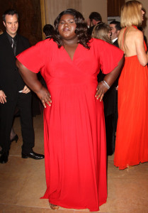 Gabourey Sidibe at the 60th annual ACE Eddie Awards at the Beverly Hilton Hotel on February 14th 2010 in Beverly Hills California 1