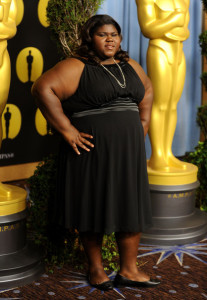 Gabourey Sidibe at the 82nd annual Academy Awards Nominee Luncheon at Beverly Hilton Hotel on February 15th 2010 in Los Angeles California 3