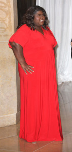 Gabourey Sidibe at the 60th annual ACE Eddie Awards at the Beverly Hilton Hotel on February 14th 2010 in Beverly Hills California 2