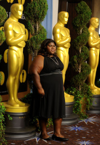 Gabourey Sidibe at the 82nd annual Academy Awards Nominee Luncheon at Beverly Hilton Hotel on February 15th 2010 in Los Angeles California 4