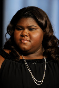 Gabourey Sidibe at the 82nd annual Academy Awards Nominee Luncheon at Beverly Hilton Hotel on February 15th 2010 in Los Angeles California 1