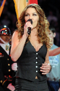 Gretchen Wilson sings during the NBA All Star Game held at Cowboys Stadium on February 14th 2010 in Arlington Texas 5