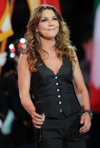 Gretchen Wilson sings during the NBA All Star Game held at Cowboys Stadium on February 14th 2010 in Arlington Texas 2