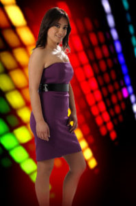 picture of the Star Academy season seven student eline from Lebanon