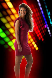 picture of the Star Academy season seven student rania from egypt