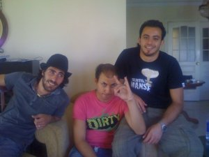 Basel Khoury photo with Mohamad Qwaider from season five 2