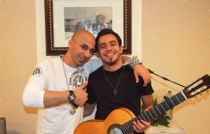 Basel Khoury photo with Mohamad Qwaider from season five 3