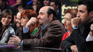 Star Academy season seven first prime picture of teacher Osama Rahbani sitting with the teachers