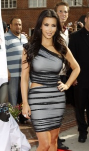 Kim Kardashian promotes the launch of her Vanilla Cupcake Mix at The Famous Cupcakes store on February 19th 2010 in Beverly Hills 10