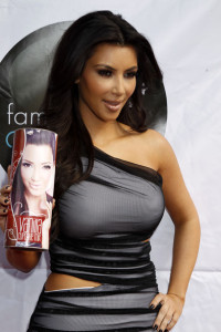 Kim Kardashian promotes the launch of her Vanilla Cupcake Mix at The Famous Cupcakes store on February 19th 2010 in Beverly Hills 6