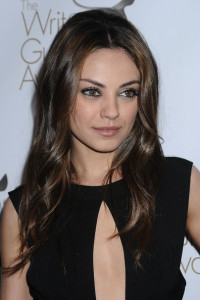 Mila Kunis arrives at the 2010 Writers Guild Awards held at the Hyatt Regency Century Plaza on February 20th 2010 in Century City California 3