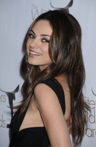 Mila Kunis arrives at the 2010 Writers Guild Awards held at the Hyatt Regency Century Plaza on February 20th 2010 in Century City California 4