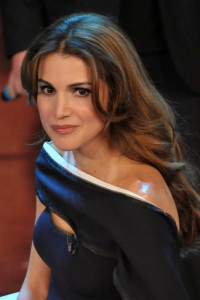 Queen Rania of Jordan at the 60th San Remo Song Festival at the Ariston Theatre On February 19th 2010 in San Remo Italy 12
