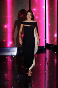 Queen Rania of Jordan at the 60th San Remo Song Festival at the Ariston Theatre On February 19th 2010 in San Remo Italy 3
