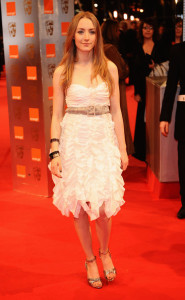 Saoirse Ronan at the Orange British Academy Film Awards BAFTA at the Royal Opera House on February 21st 2010 in London England 2