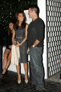 Simon Cowell and his finacee Mezhgan Hussainy spotted arriving to the Cecconis restaurant to dine with friends on February 20th 2010 in West Hollywood 3