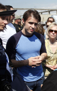 Kris Allen photos as he arrives in Haiti with the UN Foundation on February 23rd 2010 to help the earthquake devastated country 3