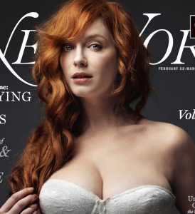 Christina Hendricks photo shoot for the cover of February 2010 issue of New York magazine 1