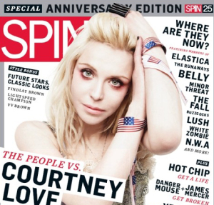 Courtney Love photo shoot for March 2010 issue of Spin magazine on its 25th anniversary edition 3