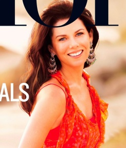 Lauren Graham photo shoot for the March 2010 issue of More magazine 2