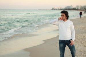 Zaher Zorgatti photo shoot on Sousse Beach in Tunis 3