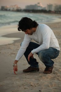 Zaher Zorgatti photo shoot on Sousse Beach in Tunis 4