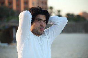 Zaher Zorgatti photo shoot on Sousse Beach in Tunis 1