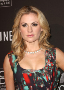 Anna Paquin arrives at the 12th Annual Costume Designers Guild Awards with Presenting Sponsor Swarovski held on February 25th 2010 at The Beverly Hilton hotel in California 1
