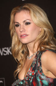 Anna Paquin arrives at the 12th Annual Costume Designers Guild Awards with Presenting Sponsor Swarovski held on February 25th 2010 at The Beverly Hilton hotel in California 4