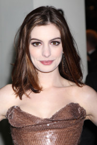 Anne Hathaway arrives at the Royal World Premiere of Alice In Wonderland held at the Odeon Leicester Square on February 25th 2010 in London England 5