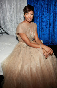 Eva Marcille attends the 41st NAACP Image awards held at The Shrine Auditorium on February 26th 2010 in Los Angeles California 7