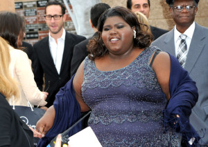 Gabourey Sidibe picture as she arrives at the 41st NAACP Image awards held at The Shrine Auditorium on February 26th 2010 in Los Angeles California 5