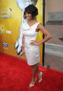 Monique Coleman arrives at the 41st NAACP Image awards held at The Shrine Auditorium on February 26th 2010 in Los Angeles California 1