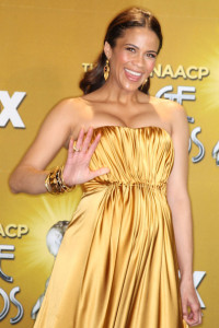Paula Patton photo at the 41st NAACP Image awards held at The Shrine Auditorium on February 26th 2010 in Los Angeles California 2