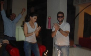 Haifa Wehbe picture at a private party with friends 3