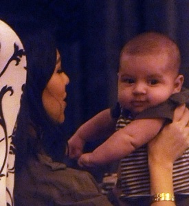 Kourtney Kardashian seen with her new born baby at the Dash store on March 2nd 2010 in Miami 2