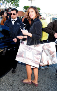 Jessica Stroup was spotted at the new Armani Exchange store on March 3rd 2010 in Los Angeles 2
