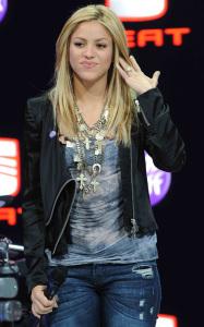 Shakira attends the 80th International Geneva Motor Show on March 3rd 2010 in Geneva Switzerland 3