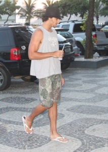 Jesus Luz spotted arriving at the Fasano Hotel in where Madonna is staying with her kids on February 11th 2010 in Ipanema Rio de Janeiro 3