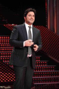 third prime of star academy 2010 on March 5th 2010 photo of Melhem Zain singing on starac stage