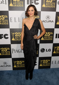 Maggie Gyllenhaal at the 25th Film Independent Spirit Awards sponsored by Piaget held at Nokia Theatre on March 5th 2010 in Los Angeles California 2