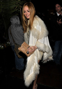 Cat Deeley arrives at the Chanel And Charles Finch Pre Oscar Party Celebrating Fashion And Film at Madeo Restaurant on March 6th 2010 in Los Angeles 3