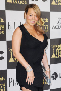 Mariah Carey at the 25th Film Independent Spirit Awards sponsored by Piaget held at Nokia Theatre on March 5th 2010 in Los Angeles California 4