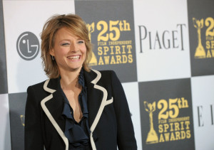 Jodie Foster at the 25th Film Independent Spirit Awards sponsored by Piaget held at Nokia Theatre on March 5th 2010 in Los Angeles California 5