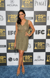 Rosario Dawson arrives at the 25th Film Independent Spirit Awards sponsored by Piaget held at Nokia Theatre on March 5th 2010 in Los Angeles California 5