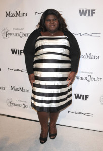 Gabourey Sidibe arrives at the 3rd Annual Women In Film Pre Oscar Party at a private residence in Bel Air on March 4th 2010 in Los Angeles 2