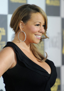 Mariah Carey at the 25th Film Independent Spirit Awards sponsored by Piaget held at Nokia Theatre on March 5th 2010 in Los Angeles California 5
