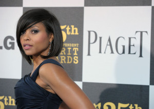 Taraji P Henson arrives at the 25th Film Independent Spirit Awards sponsored by Piaget held at Nokia Theatre on March 5th 2010 in Los Angeles California 4